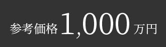 参考価格1,000万円